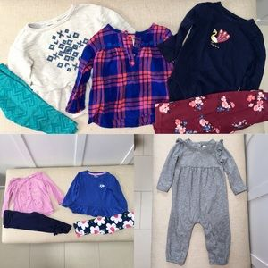 Gap, Oshkosh & Gymboree 12 month clothes